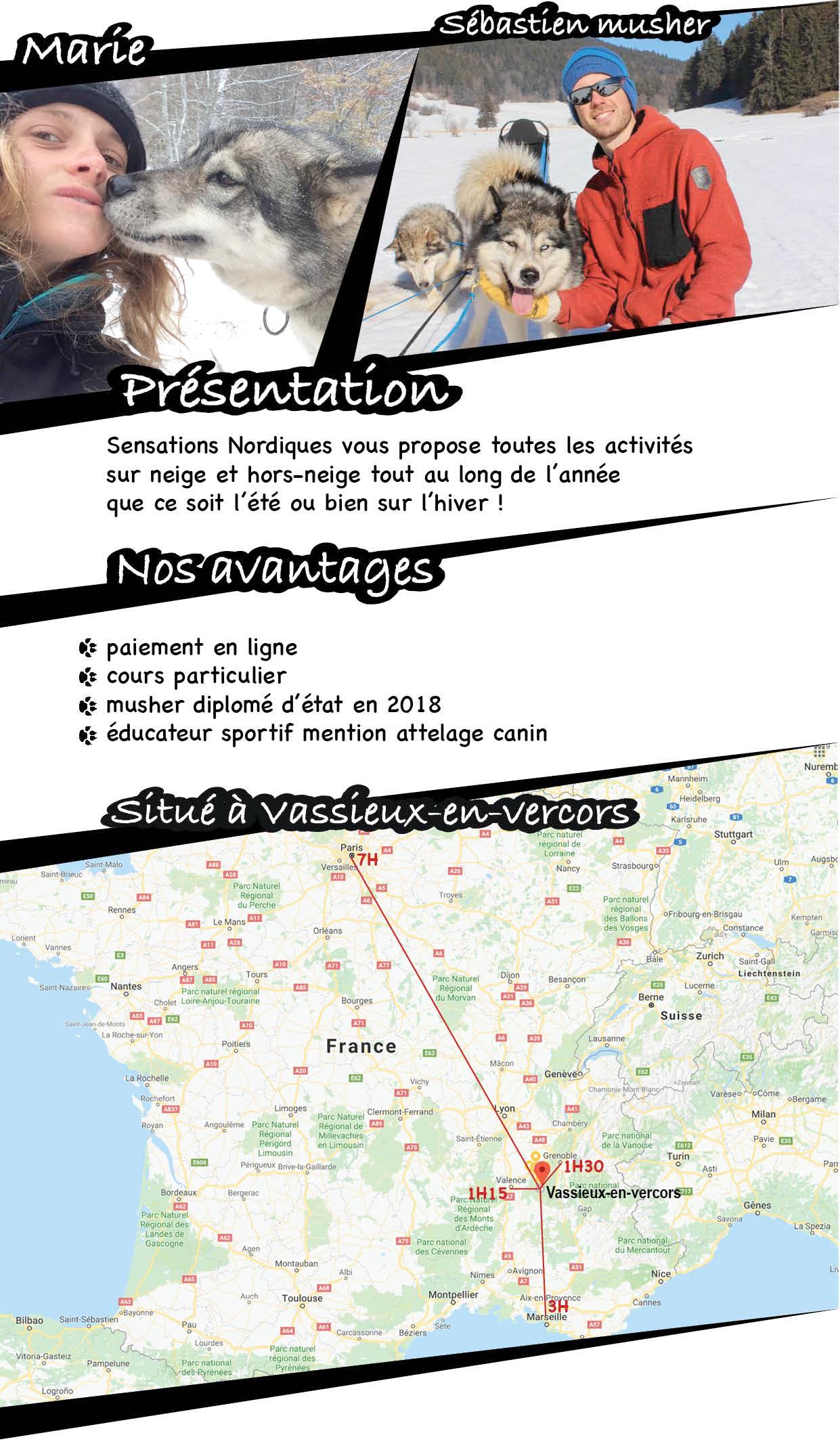 page site presentation